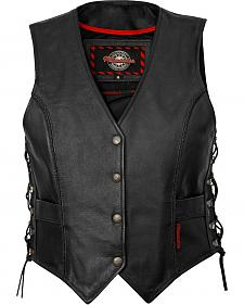 Milwaukee Motorcycle Deuce Leather Vest