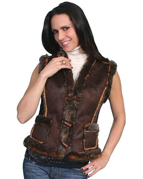 Scully Faux Shearling Vest