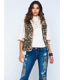 Scully Faux Fur Vest