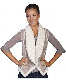 Scully Lightweight Faux Shearling Vest