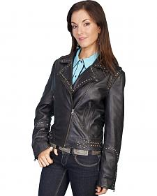 Scully Lambskin Motorcycle Jacket