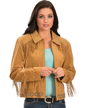 Scully Studded Fringe Jacket