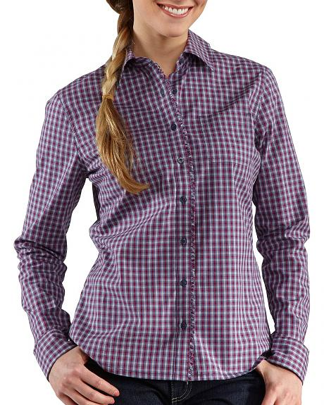 Carhartt Country Girl Plaid Top