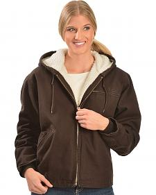Red Ranch Chocolate Sherpa Lined Work Jacket