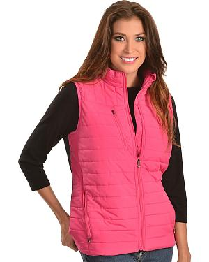 Red Ranch Quilted Poly Vest