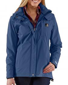 Carhartt Waterproof Blue Cascade Jacket