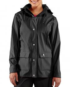Carhartt Waterproof Black Medford Jacket