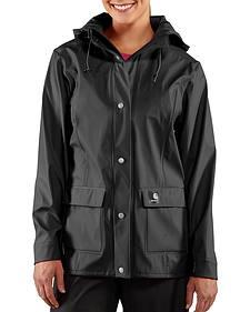 Carhartt Waterproof Black Medford Jacket