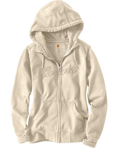 Carhartt Clarksburg Zip-Front Hooded Sweatshirt Western & Country 100704-660