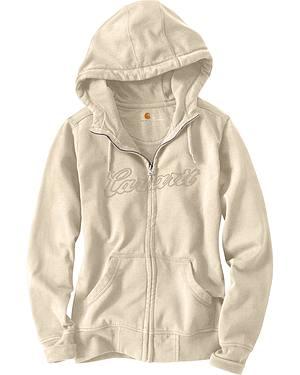 Carhartt Clarksburg Zip-Front Hooded Sweatshirt