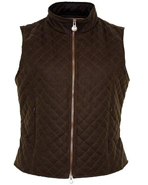 Outback Trading Co. Quilted Oilskin Vest