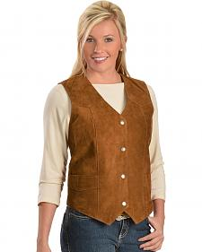 Red Ranch Women's Suede Vest