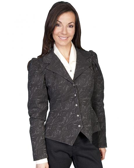 WahMaker by Scully Old West Jacquard Tapestry Jacket