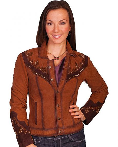 Scully Women's Studded Suede Jacket
