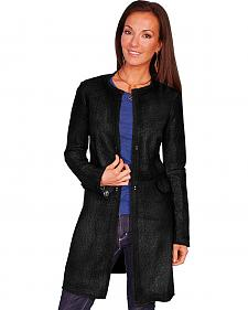 Scully Women's Laser Cut Leather Coat