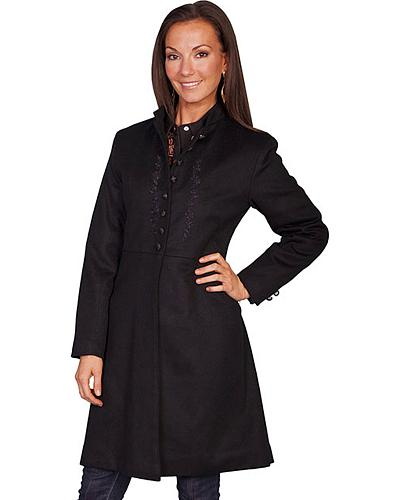 WahMaker by Scully Womens Wool Heritage Coat $238.99 AT vintagedancer.com