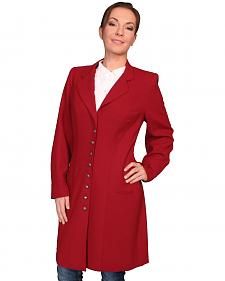 WahMaker by Scully Women's Crepe Wool Frock Coat
