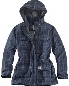 Carhartt Women's Gallatin Quilt Flannel Coat