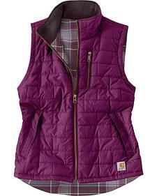 Carhatt Women's Reversible Plaid Amoret Vest