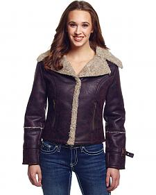 Cripple Creek Women's Faux Shearling Jacket