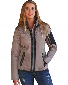 Cruel Girl Women's Quilted Western Jacket