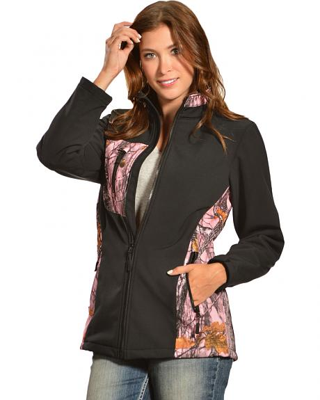 Red Ranch Women's Bonded Pink Camo Jacket