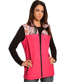 Red Ranch Hot Pink Camo Bonded Vest