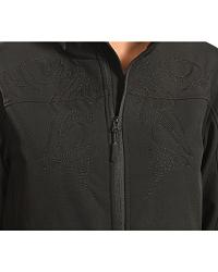 Red Ranch Women's Embroidered Black Bonded Jacket at Sheplers