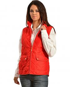 Jane Ashley Women's Diamond Quilted Vest