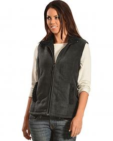 Jane Ashley Sherpa Fleece Vest