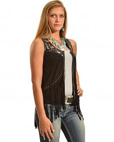 Powder River Outfitters Women's Fringed Vest
