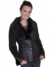 Scully Honey Creek Faux Suede and Faux Fur Jacket