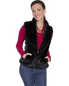 Scully Honey Creek Reversible Faux Fur Vest