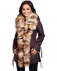 Cripple Creek Women's Shearling Coat