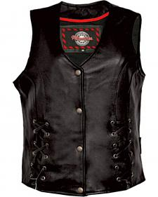 Interstate Leather Women's Dixie Vest - Plus
