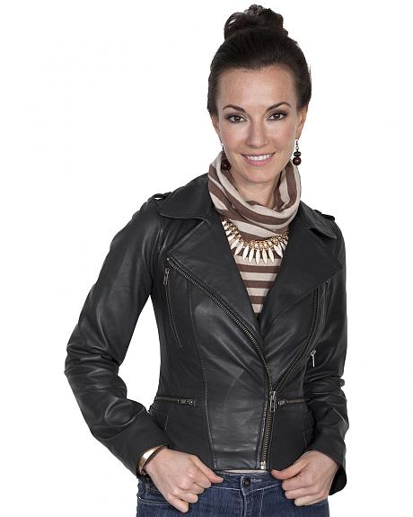 Scully Leatherwear Motorcycle Lamb Jacket