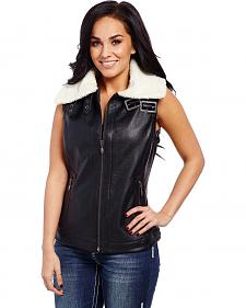 Cripple Creek Fur Collar Vest