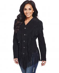 Cripple Creek Women's Ghost Rider Fringe Jacket