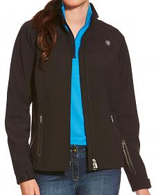 Ariat Women's Black Vivid Softshell Jacket
