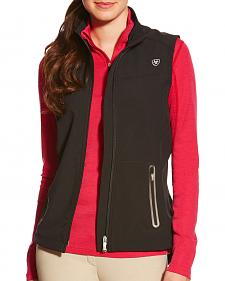 Ariat Women's Black Vivid Softshell Vest