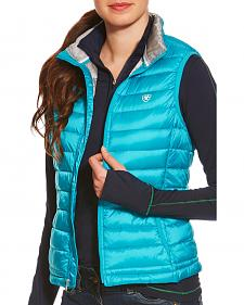 Ariat Women's Lanai Blue Ideal Down Vest