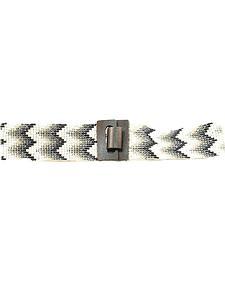 Nocona Chevron Beaded Stretch Belt