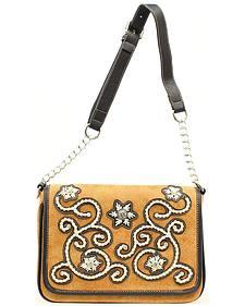 Blazin Roxx Floral Stitch Handbag