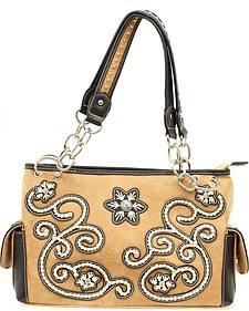 Blazin Roxx Floral Stitched Handbag