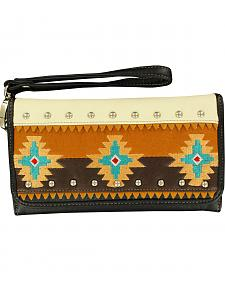 Blazin Roxx Southwest Embroidered Wallet