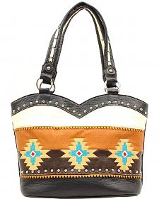 Blazin Roxx Southwest Embroidered Boot Top Bag