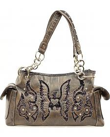 Blazin Roxx Sequin Thunderbird Satchel Bag