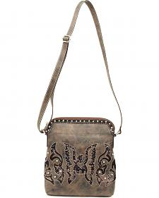Blazin Roxx Thunderbird Sequin Crossbody Bag