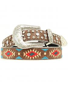 Blazin Roxx Southwest Stitch Diamond Belt
