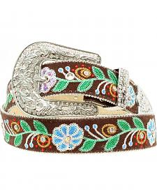 Blazin Roxx Floral Embroidered Belt